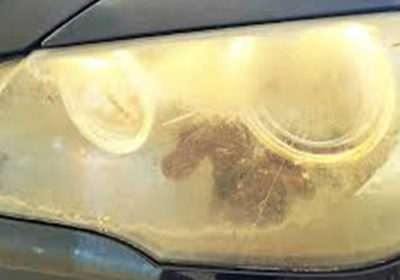 Yellowing of Headlight Lenses